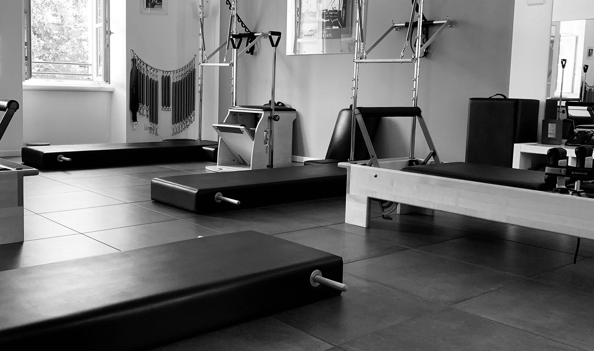 Studio di pilates a Trento, dettaglio attrezzi