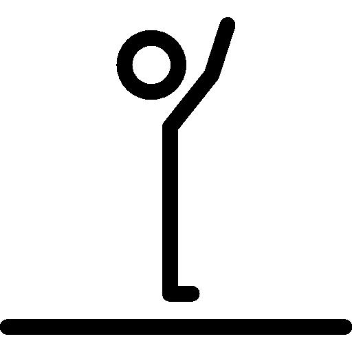 Elongation Posture Pilates Icon